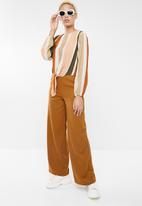 Forever21 - Wide leg trousers - brown