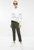 Forever21 - Ankle pant - green