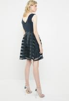 ONLY - Organza dress - navy