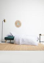 Sixth Floor - Willow sleeper couch - green