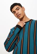 Cotton On - Drop shoulder crew neck sweater - multi