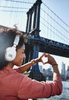 JBL - E55 bluetooth wireless over ear headphones - white