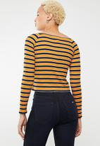 Forever21 - Off shoulder stripe top - multi