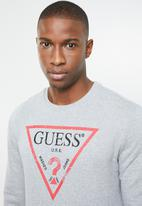 GUESS - Guess iconic active top - grey