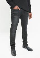 GUESS - Slim straight jeans - black