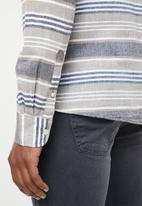 Only & Sons - Caiden long sleeve stripe shirt - multi