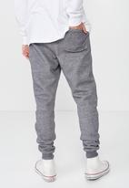 Cotton On - Brunswick slim fit track jogger - grey