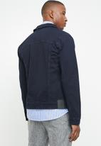 Only & Sons - Coin trucker jacket - navy