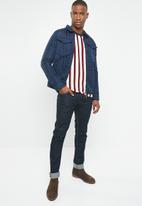 Jack & Jones - Steve knit crew neck sweater - multi