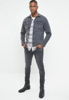 Only & Sons - Warp skinny jeans - grey