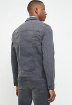 Only & Sons - Coin trucker jacket - grey