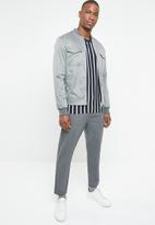 Jack & Jones - Loom jacket - grey