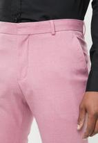 Selected Homme - Logan slim fit trousers - pink