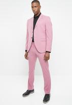 Selected Homme - Logan slim fit blazer - pink