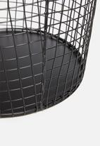 Sixth Floor - Iris basket - black