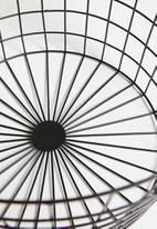 Sixth Floor - Logan basket - black