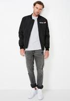 Cotton On - Nasa bomber jacket - black