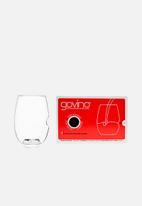 Govino - Plastic red wine picnic glasses - set of 4