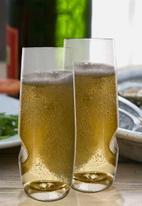 Govino - Plastic dishwasher safe champagne picnic glasses - set of 4