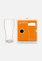 Govino - Plastic beer picnic glasses - set of 4