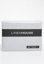 Linen House - Arabella duvet cover set - silver grey