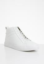 Jack & Jones - JFW neptune fusion leather - white