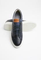 Jack & Jones - Barbon leather - navy