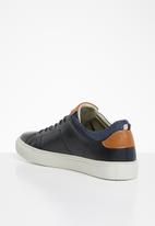 Jack & Jones - Barbon leather - navy