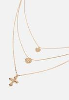 Cotton On - Lily baroque necklace - gold
