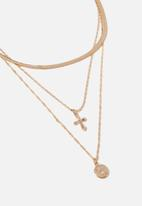 Cotton On - Catherine baroque necklace - gold