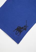 POLO - Boys rick classic short sleeve tee -blue