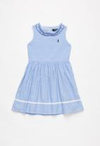 POLO - Abigail party dress - blue