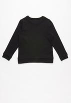GUESS - Long sleeve icon active top - black