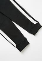 POP CANDY - Kids 2 pack tracksuit pants - black & grey