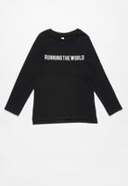 Cotton On - Penelope long sleeve top - black
