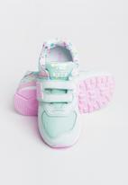 New Balance  - 574 infants sneaker  - green & pink