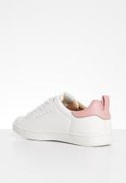 ONLY - Shilo sneaker - white & pink