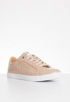 ONLY - Silja patent sneaker - beige