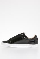 ONLY - Silja patent sneaker - black