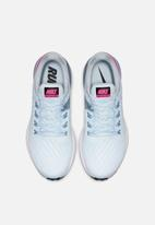 Nike - Nike Air zoom structure 22 - half blue, hyper pink-obsidian mist-black