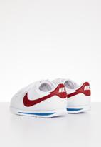 Nike - Cortez basic sl btv - white/varsity red-varsity royal-black-mtlc silver