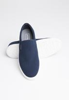 Jack & Jones - Rowden canvas slip - navy