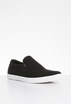 Jack & Jones - Rowden canvas slip anthracite - black