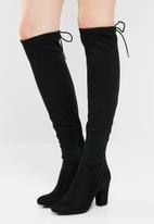 Call It Spring - Culkin over-the-knee boot - black