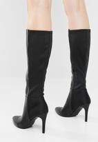 Call It Spring - Brestica combo knee lengtht boot - black