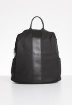 STYLE REPUBLIC - Fashion strip backpack - black