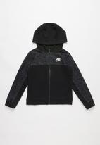 Nike - Nkb av15 fz hoodie - black