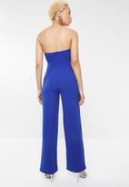 Forever21 - Strapless sweetheart jumpsuit - blue