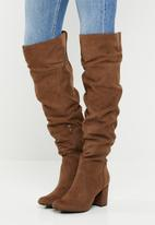 Madison® - Kadin over the knee boot - tan