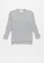 Rebel Republic - Teens ribbed knit - grey